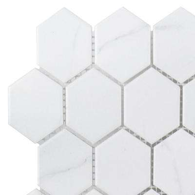 Whisper Valley 3 in. x 6 in. x 6 mm Porcelain Mosaic Tile Sample