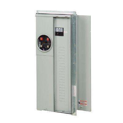 200 Amp 20-Space 40-Circuit EUSERC BR Type Main Breaker Meter Breaker Flush