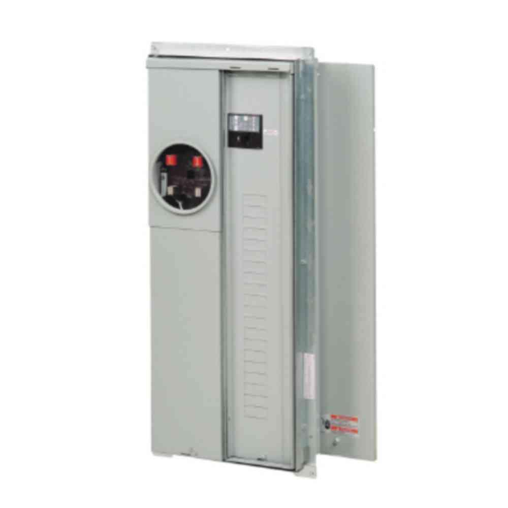 200 Amp 20-Space 40-Circuit Surface EUSERC BR Type Main Meter Breaker