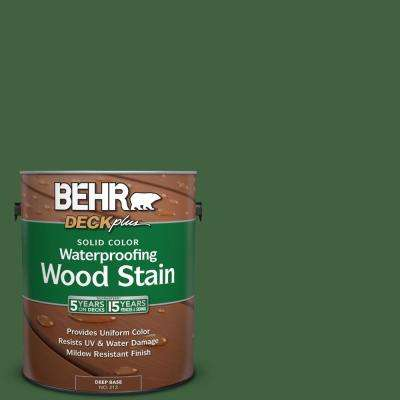 1 gal. #S400-7 Deep Viridian Solid Color Waterproofing Wood Stain