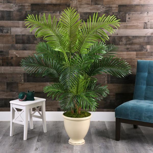 5.5 ft. Hawaii Palm Artificial Tree in Decorative Urn