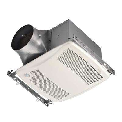 ULTRA GREEN ZB Series 110 CFM Multi-Speed Ceiling Bathroom Exhaust Fan with Motion Sensing, ENERGY STAR*
