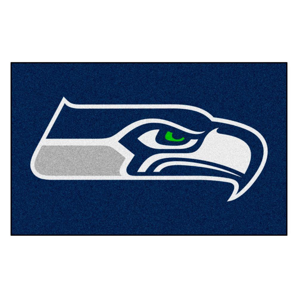 NFL 8 ft.x 5 ft. Seattle Seahawks Rug