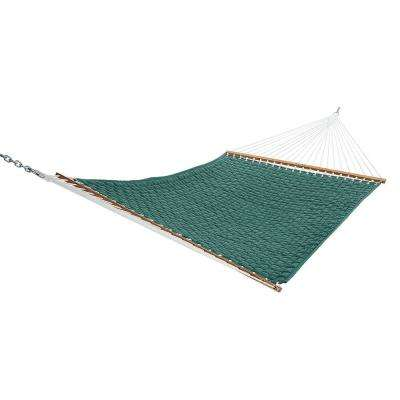 13 ft. Large Soft Weave Hammock Green