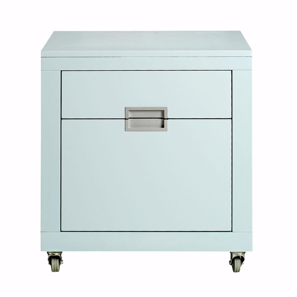 Home Decorators Collection Parsons File Cabinet in Blue