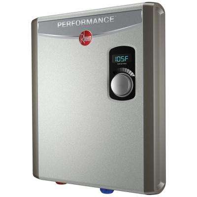 rheem - tankless electric water heaters - water heaters - the home depot