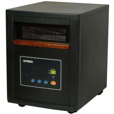 1500-Watt Quartz Infrared Heater with Remote