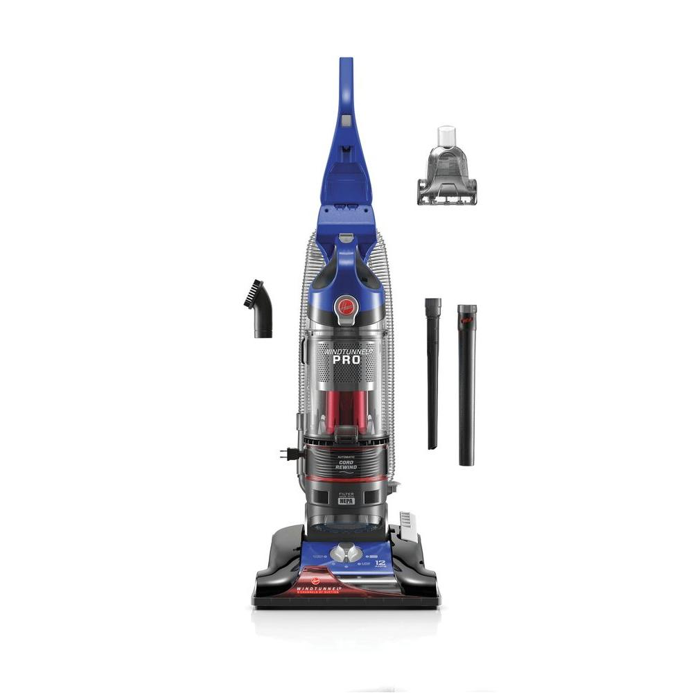 Hoover WindTunnel 3 Pro Bagless Upright Vacuum Cleaner in Blue, Blues