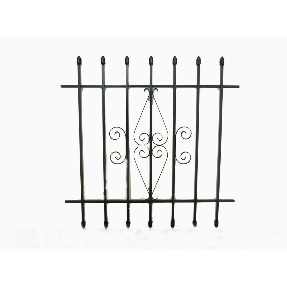 Grisham 36 in. x 36 in. Spear Point Window Bar Guard