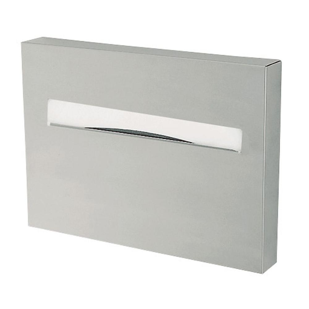 null Seat Cover Dispenser in Silver