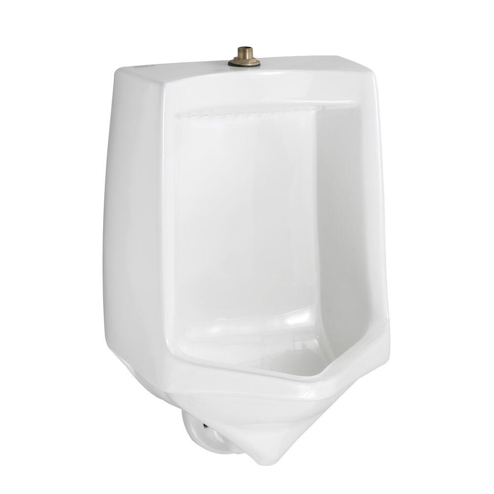 American Standard Trimbrook 0.85 - 1.0 GPF Urinal with Siphon Jet Flush Action in White (Valve Sold Separately)