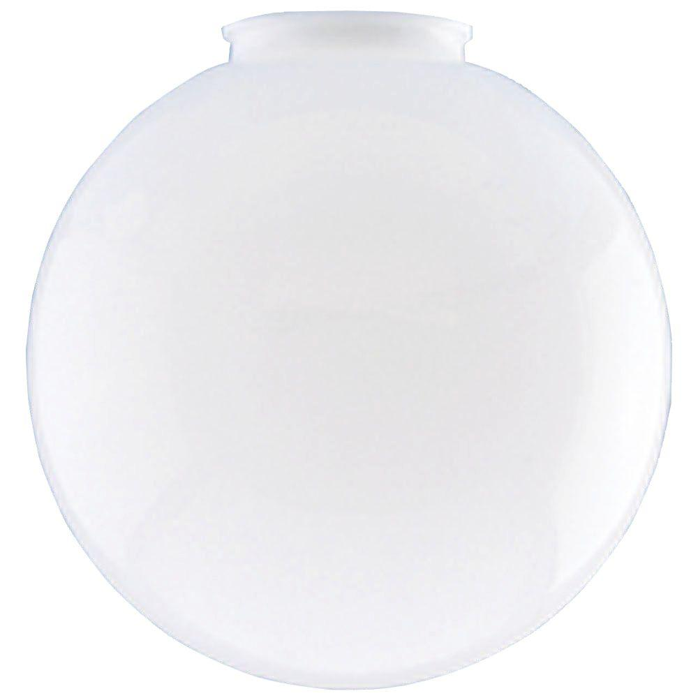 Westinghouse 10 in. White Acrylic Globe with 4 in. Fitter