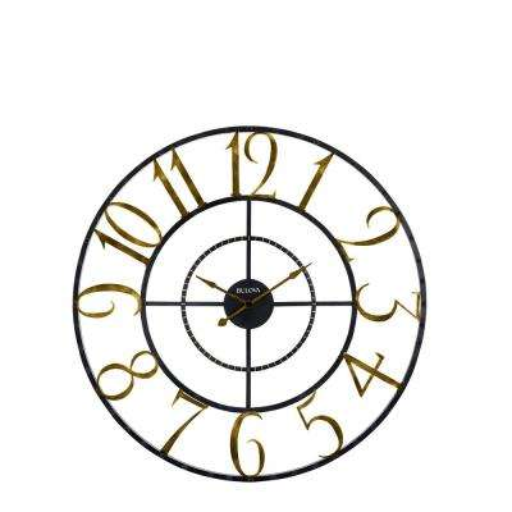 Bulova Wall Clocks Clocks The Home Depot