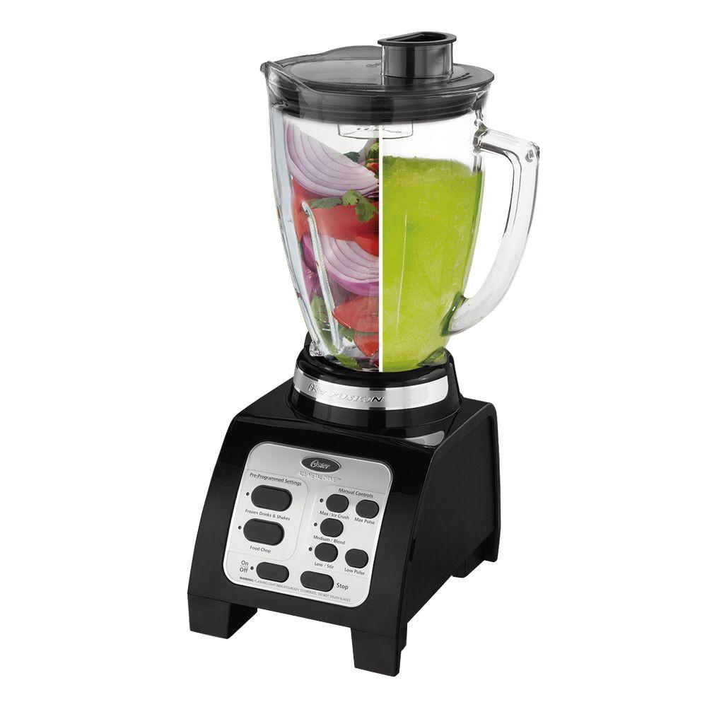 Jarden Oster - 7-Speed Food Processor/Blender - Black