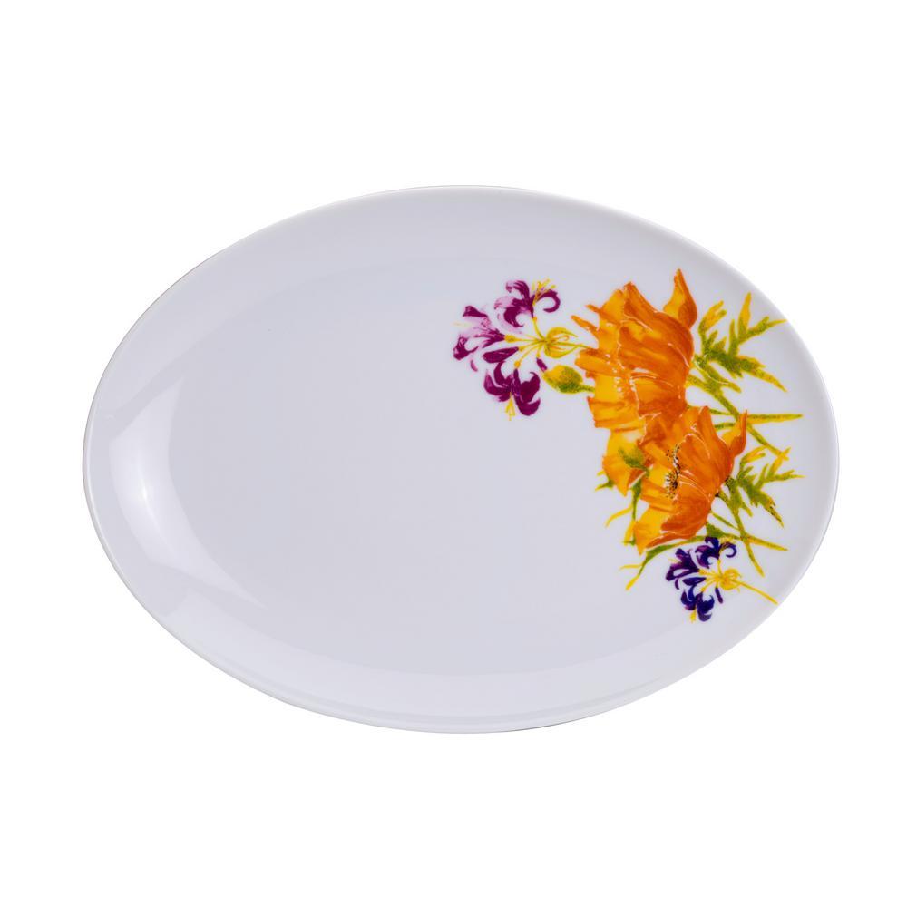 Tiger Lilly Oval Platter