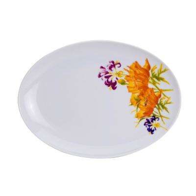 Tiger Lilly Oval Platter