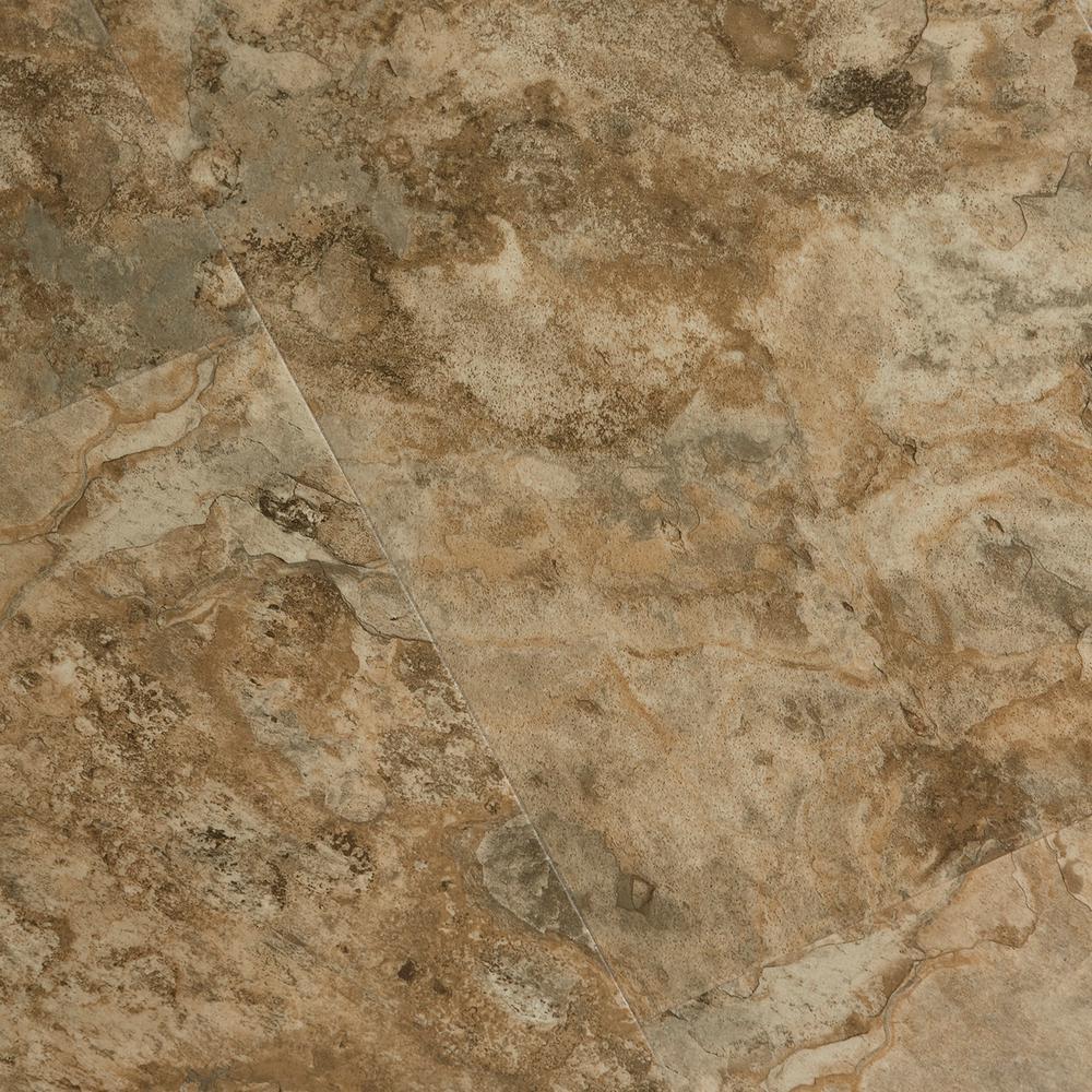 Textured Rock Grain Willow Crest 6 mm x 12 in. Width x 24 in. Length Vinyl Plank Flooring (16.02 sq.ft/case)