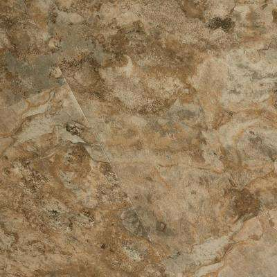 Textured Rock Grain Willow Crest 6 mm x 12 in. Width x 24 in. Length Vinyl Plank Flooring (16.02 sq.ft/case)