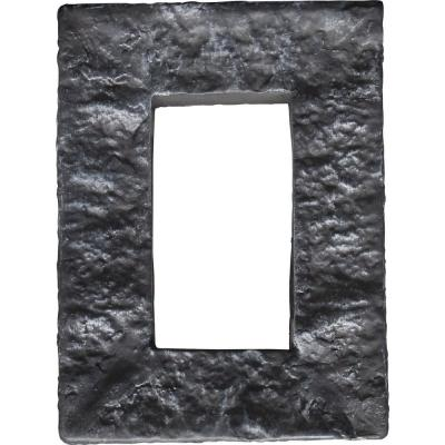 4 in. x 7-7/8 in. Universal Electrical Cover for Stonewall Faux Stone Siding Panels