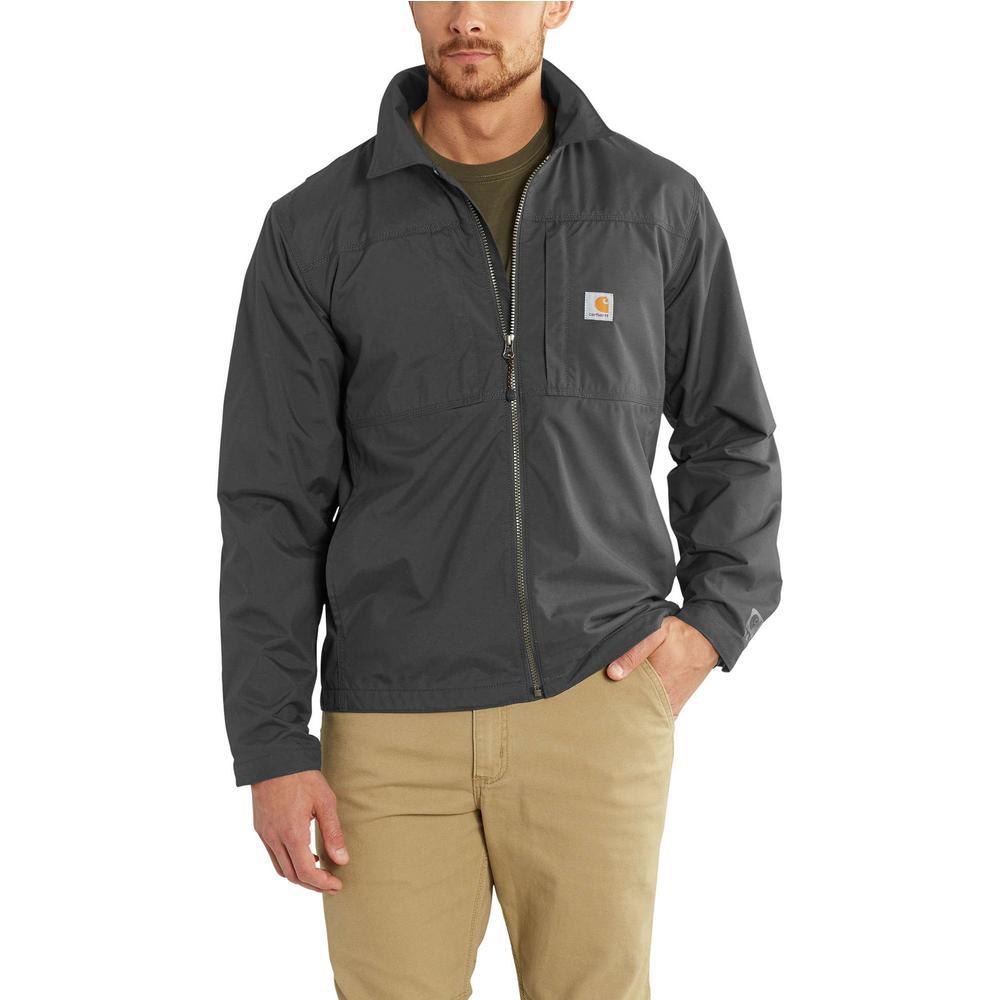 Men's Regular Large Shadow Nylon Full Swing Briscoe Jacket