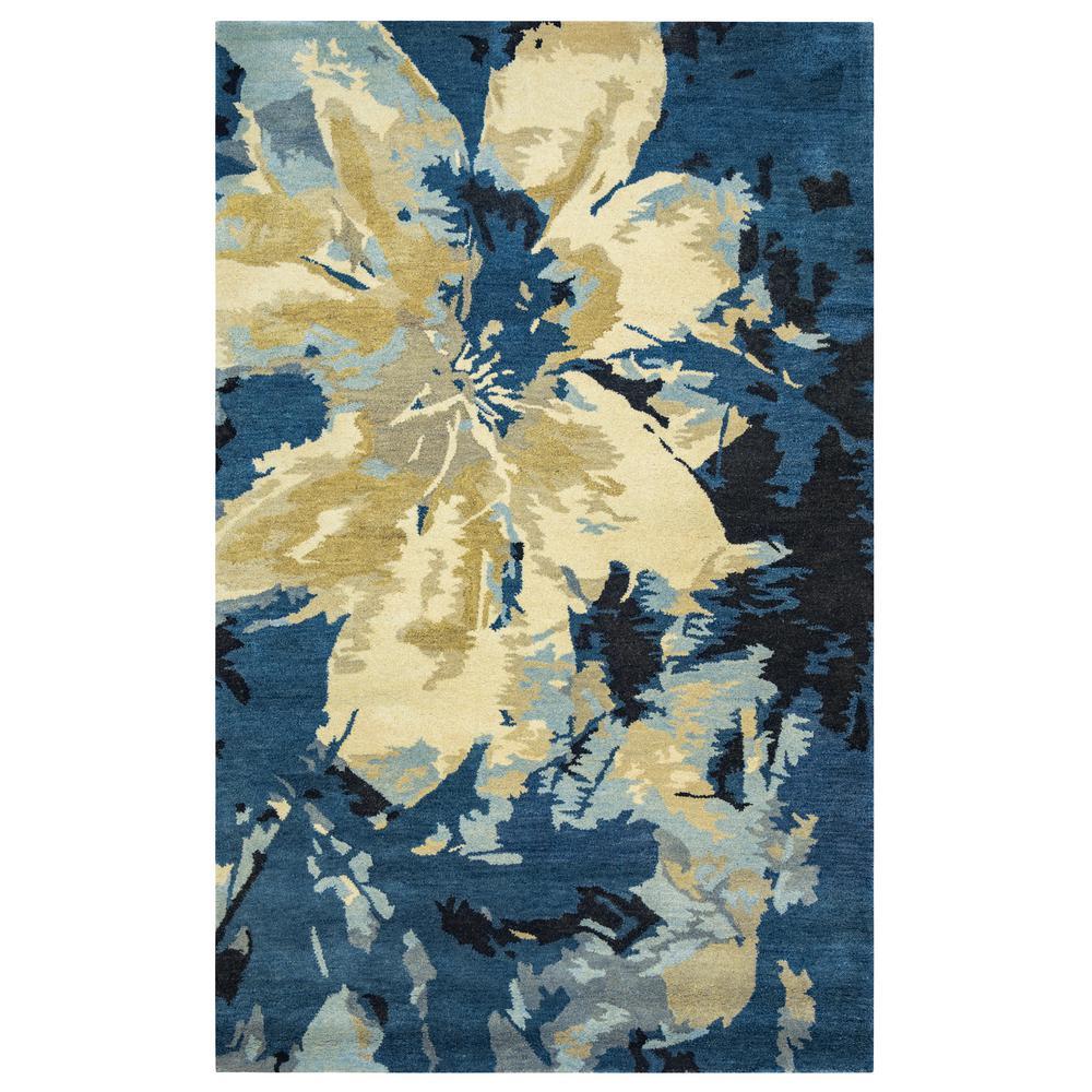 Highland Dark Blue 2 ft. x 3 ft. Accent Rug