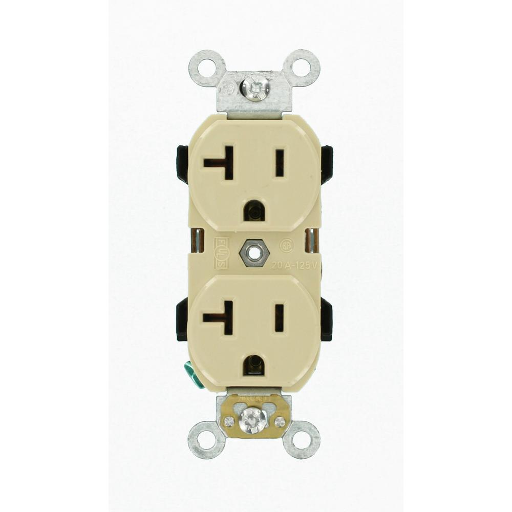 ivory leviton outlets receptacles r51 05352 0is 64_1000 leviton 20 amp outlet wiring gandul 45 77 79 119  at edmiracle.co