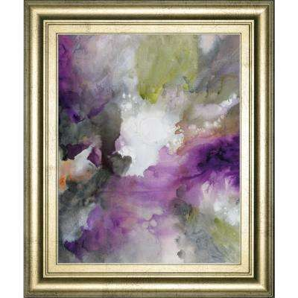 """22 in. x 26 in. """"cosmic III"""" by Douglas Framed Printed Wall Art"""