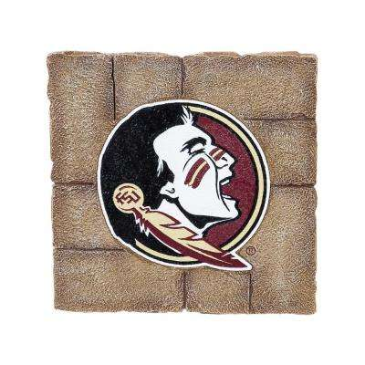 Florida State University 12 in. x 12 in. Decorative Garden Stepping Stone