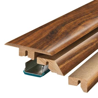 Hawaiian King Koa 3/4 in. Thick x 2-1/8 in. Wide x 78-3/4 in. Length Laminate 4-in-1 Molding