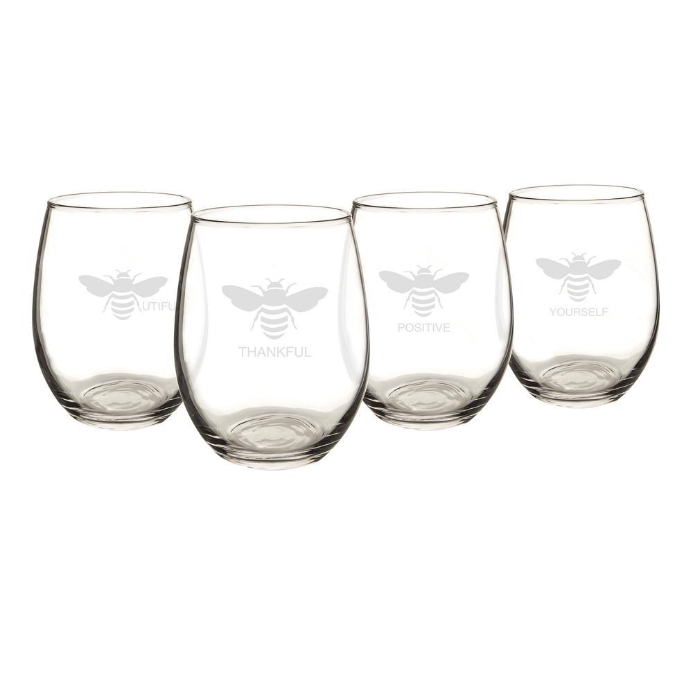 21 oz. Stemless Wine Glasses