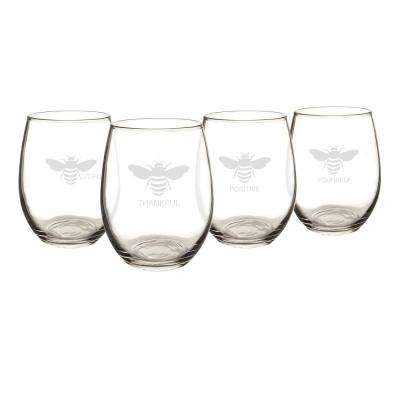 21 oz. Stemless Wine Glasses