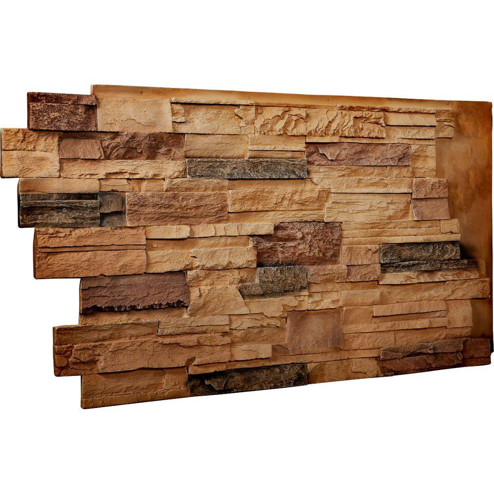 Ekena Millwork 1 1 2 In X 48 In X 25 In Arizona Gold