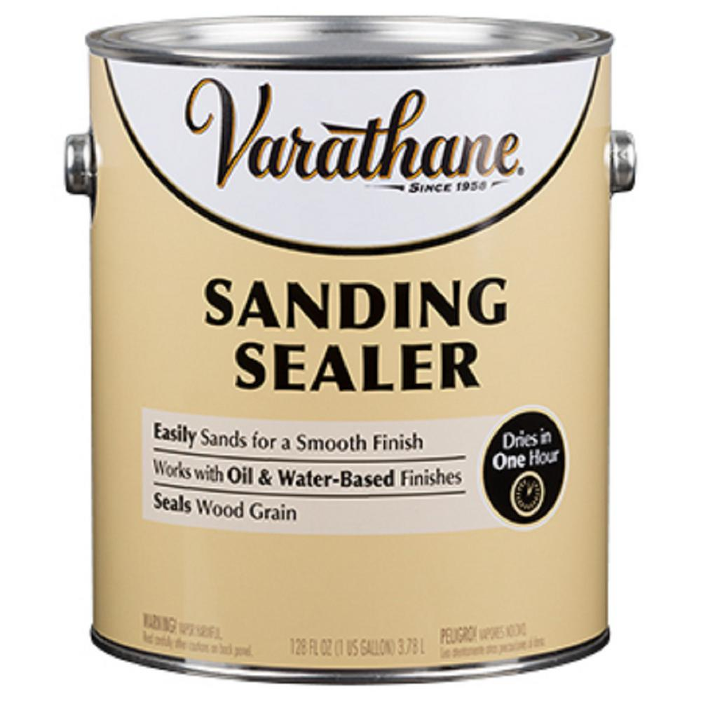 Varathane 1 Gal Woodcare Sanding Sealer 2 Pack 340445 The Home Depot