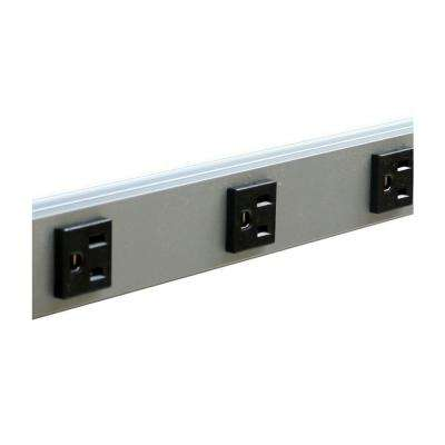 CabinetMATE 10-Outlet 15-Amp Power Strip, 6 ft. Cord