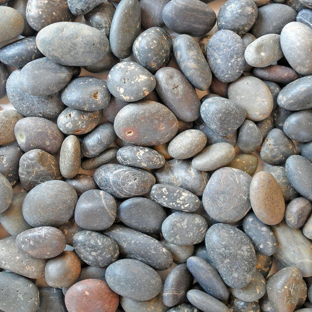 Butler Arts 5 cu. ft. 3/8 in. - 5/8 in. Pallet Mixed Mexican Beach Unpolished Pebble