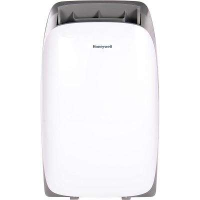 HL Series 12,000 BTU Portable Air Conditioner with Dehumidifier and Remote Control - White/Gray
