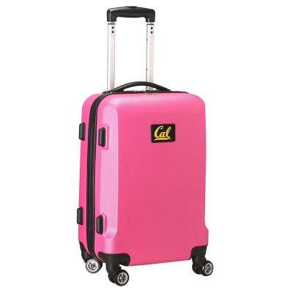 NCAA Berkeley Pink 21 in. Carry-On Hardcase Spinner Suitcase