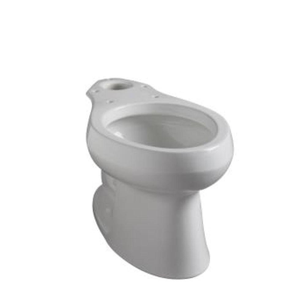 KOHLER Wellworth Elongated Toilet Bowl Only in White