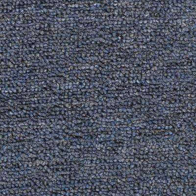 Carpet Sample - Main Rail Base - Color Danube Texture 8 in. x 8 in.