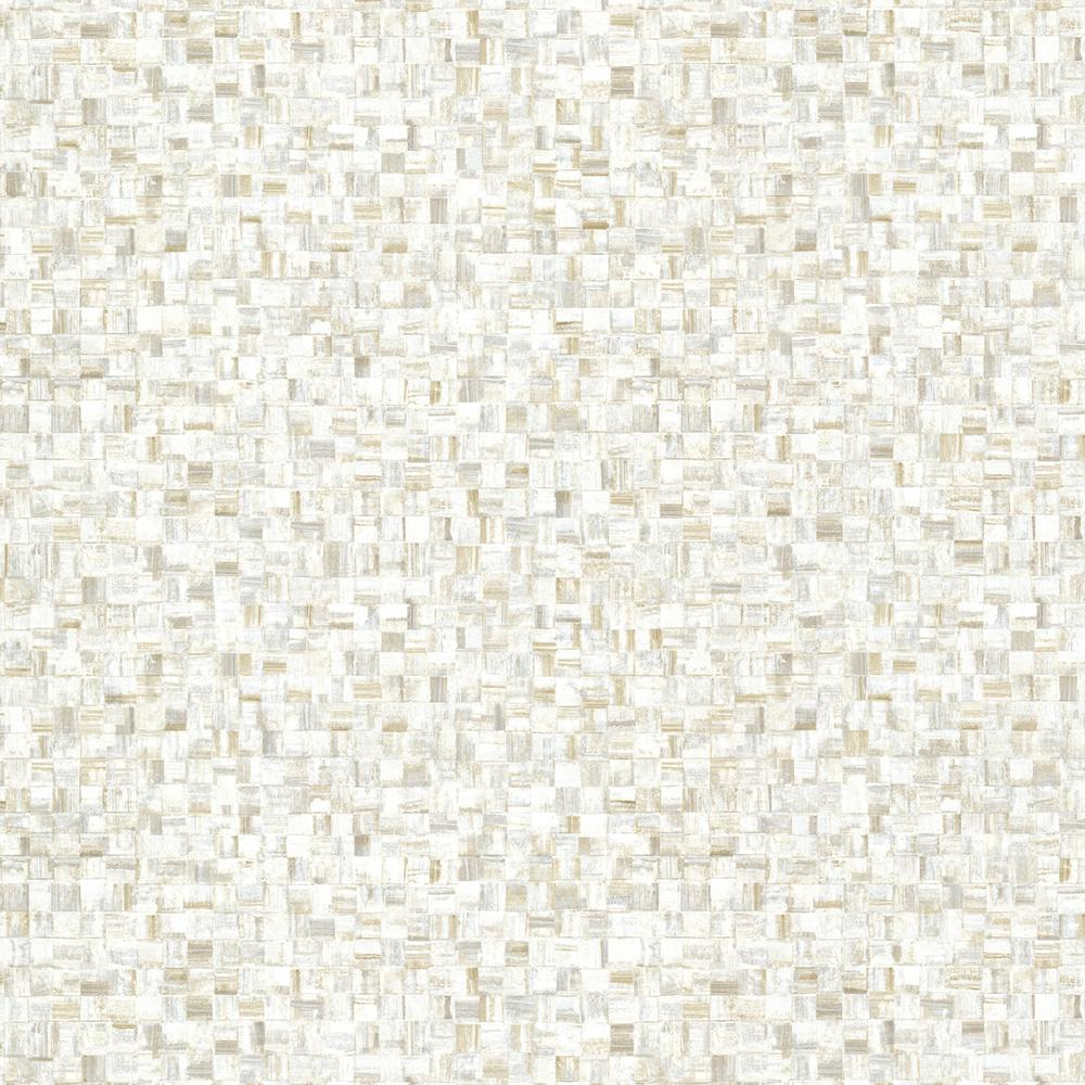 Cream (Ivory) Sanaa Paperweave Texture Wallpaper