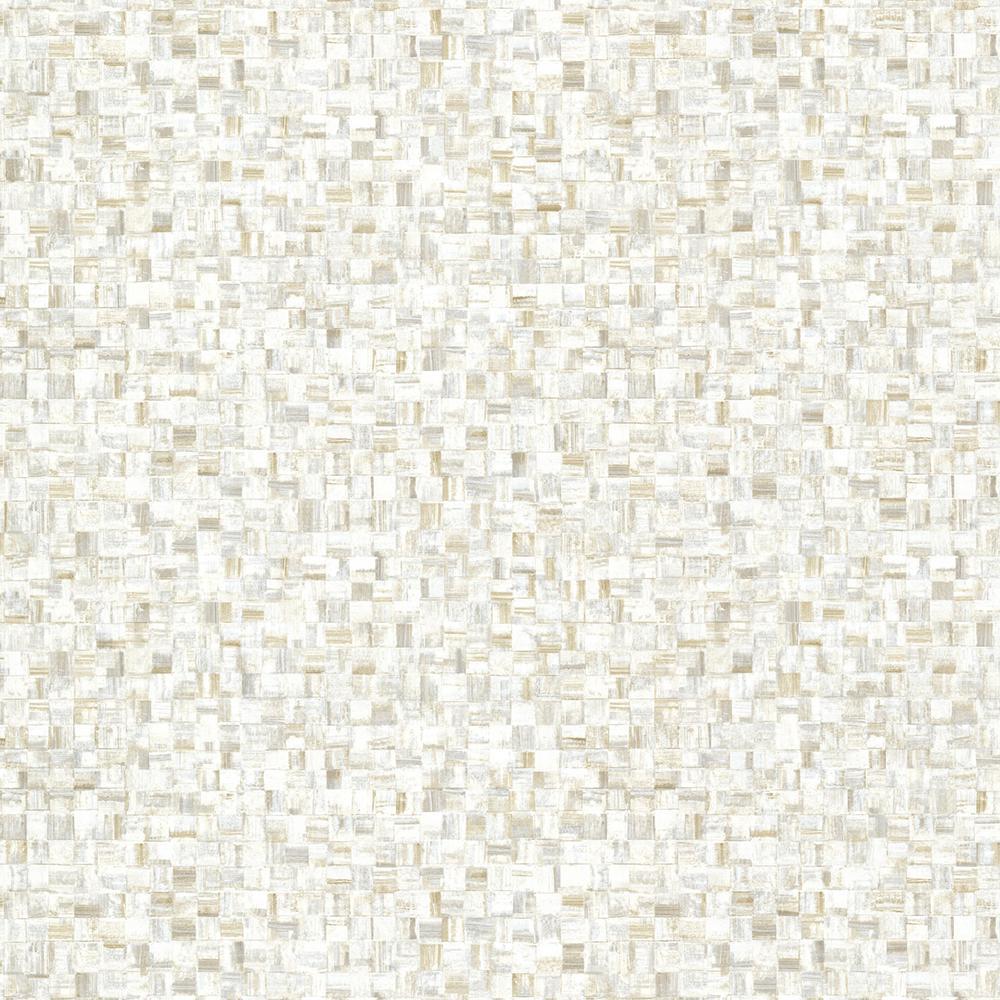Brewster Cream Sanaa Paperweave Texture Wallpaper Sample HZN43004SAM