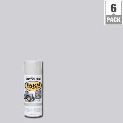 12 oz. Farm and Implement Ford Gray Spray Paint (6-Pack)