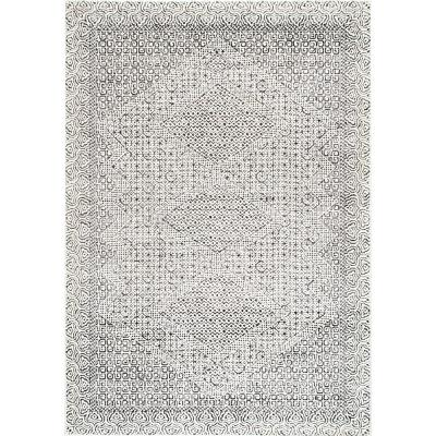 Mozaik Tribal Light Gray 12 ft. x 15 ft. Area Rug