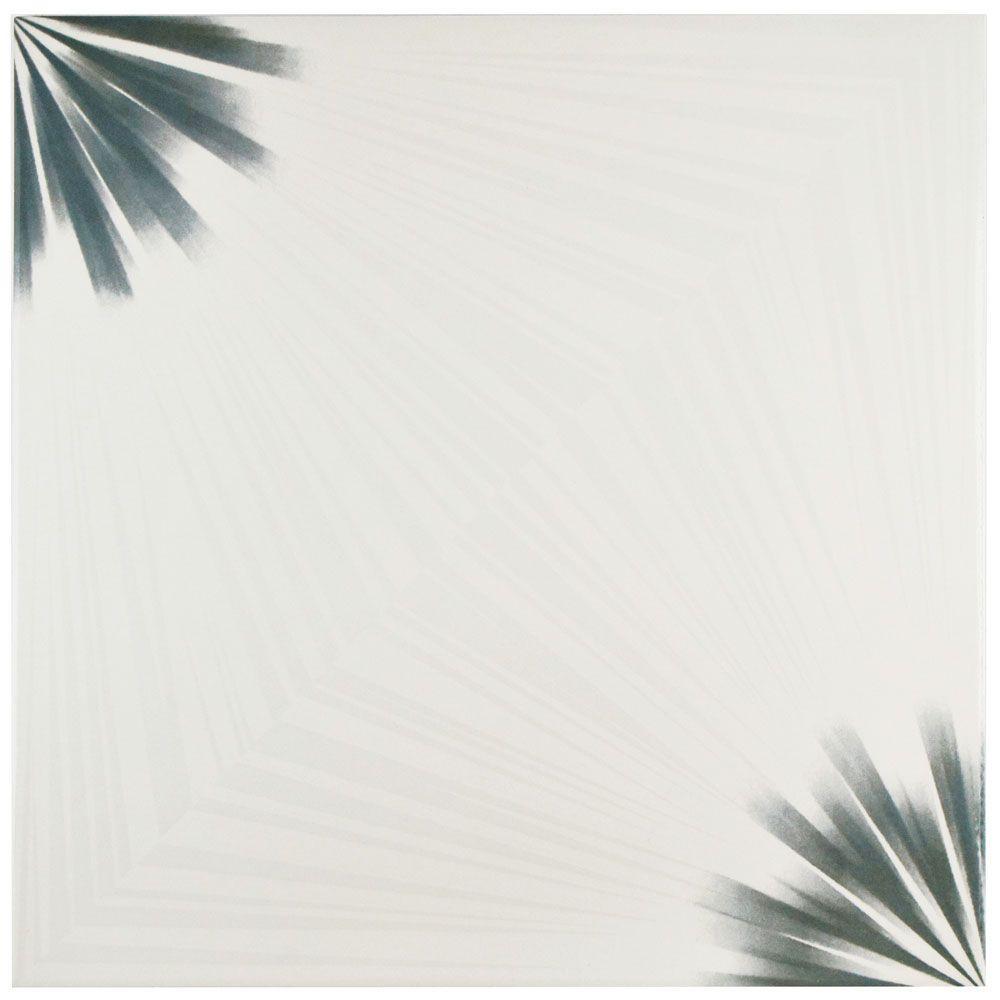 Pisa Blanco 17-3/4 in. x 17-3/4 in. Ceramic Floor and Wall Tile (21.85 sq. ft. / case)