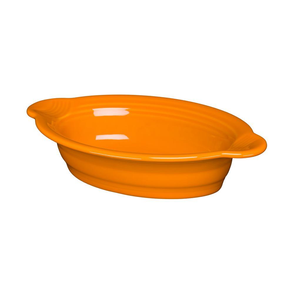 Butterscotch Ceramic 13 oz. Ind. Oval Casserole