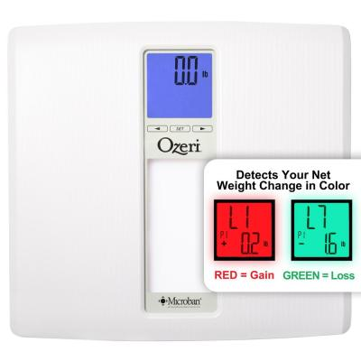Ozeri WeightMaster II 440 lbs. Digital Bath Scale with BMI and Weight Change Detection, White