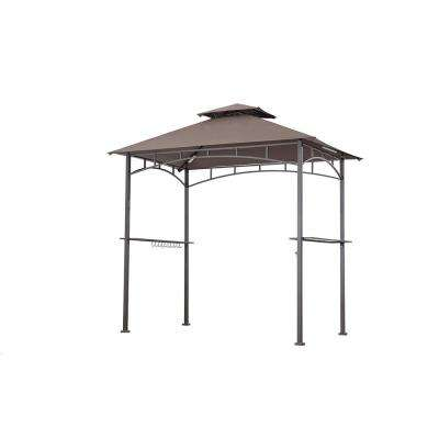 5ft. x 8ft. Brown Grill Gazebo