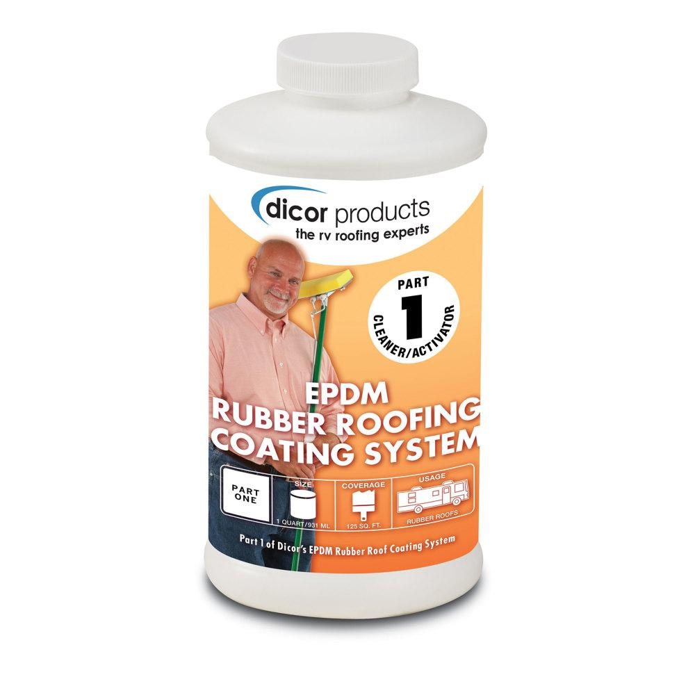 Dicor Rubber Roof Primer Cleaner Rp Crp Q The Home Depot