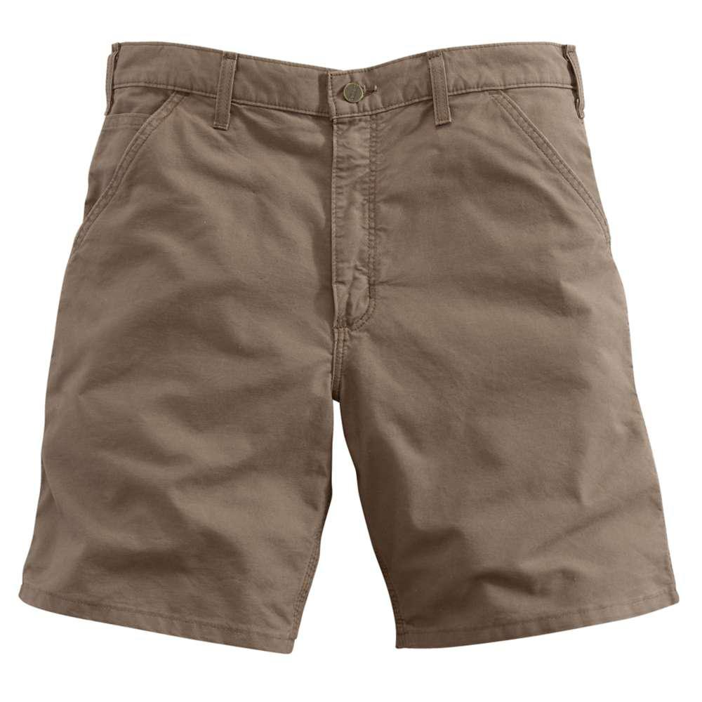 Men's Regular 31 Light Brown Cotton Shorts