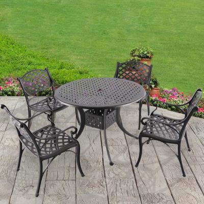 Dionysus 5-Piece Cast Aluminum Outdoor Dining Set